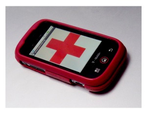 Red Cross Cell Phone