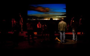 Scene from 'The Laramie Project' at Marquette University
