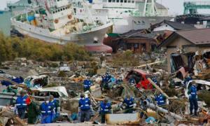 Japan rescue team