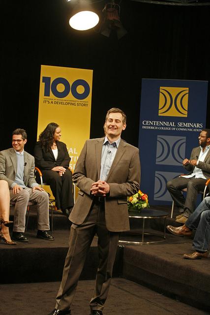 Centennial Seminars panel, February 2011