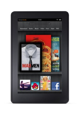 Kindle Fire display. Image from Bloomberg.com